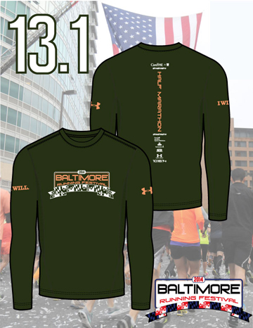 And have I mentioned how much I love my shirt? No? Well, I did. (Image from www.thebaltimoremarathon.com)