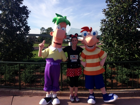 Phineas! Ferb! Phineas and Ferb together, I was SO EXCITED about getting this picture!
