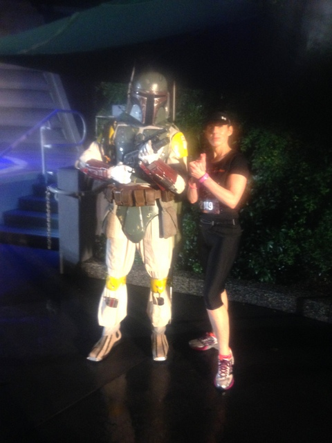 Me and Boba Fett, just chillin'