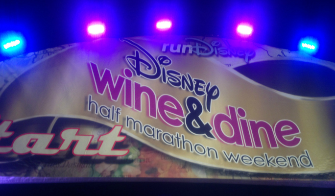 runDisney WDW Wine and Dine Half Marathon 2014