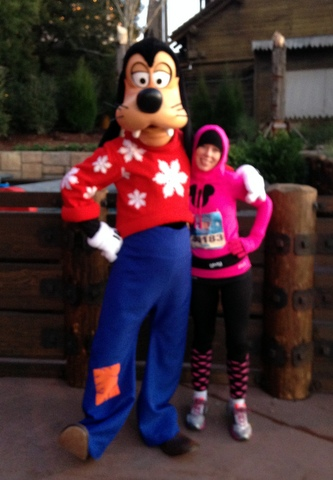 Goofy in a snowflake sweater? My cup runneth.