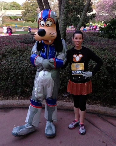Poor Goofy is looking a little down here. Canceled space flight, perhaps?