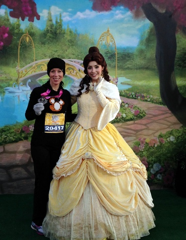 I'm not entirely sure, but I think this is my first photo with Belle!