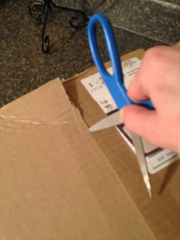You know you're a book nerd when cutting open a box makes you extremely joyous.