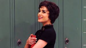 Vanessa Hudgens nailing the role of Rizzo..