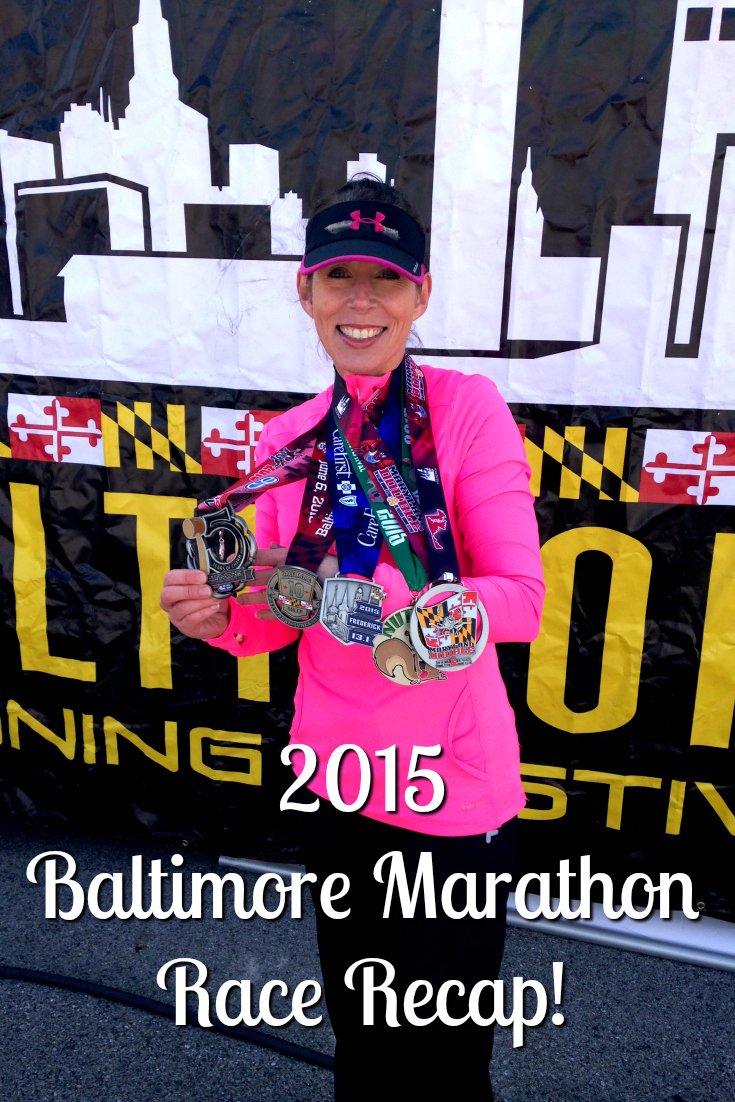 2015 Baltimore Full Marathon Recap