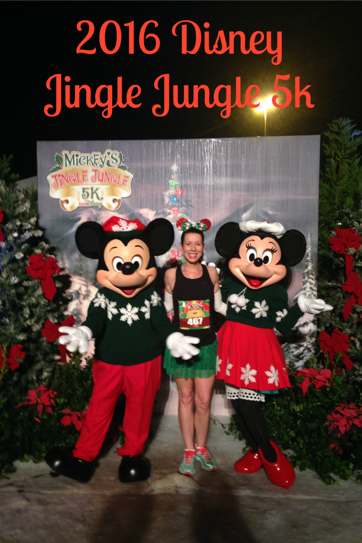 2015 Jingle Jungle 5k Race Recap | Disney