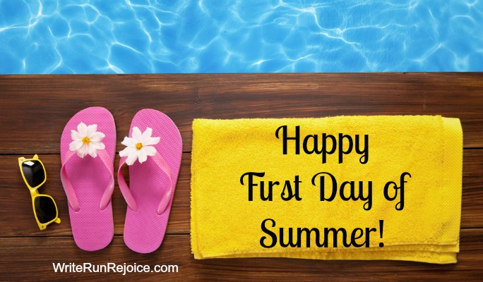 Happy First Day of Summer! I'm celebrating by making a summer bucket list. What's on yours?